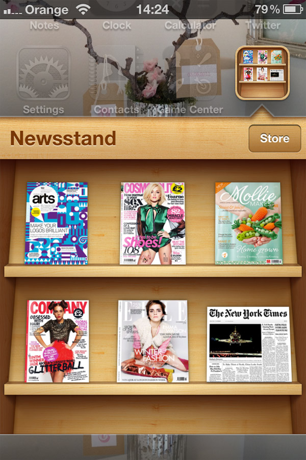 iPhone-Newstand-App