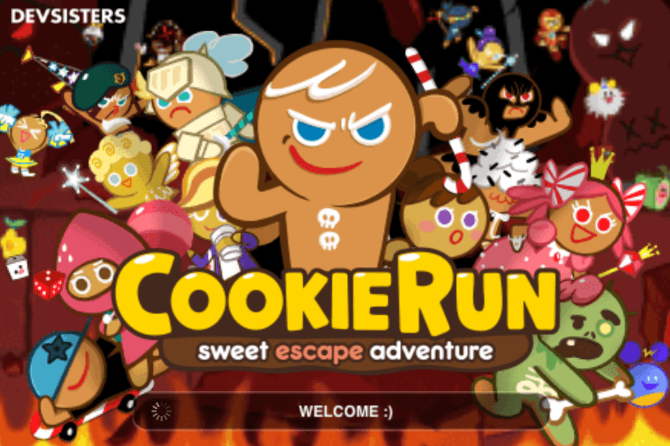 line cookie run loading
