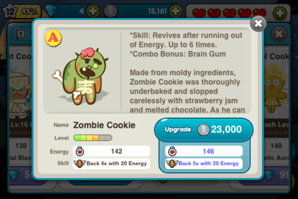 line cookie run upgrade cookie