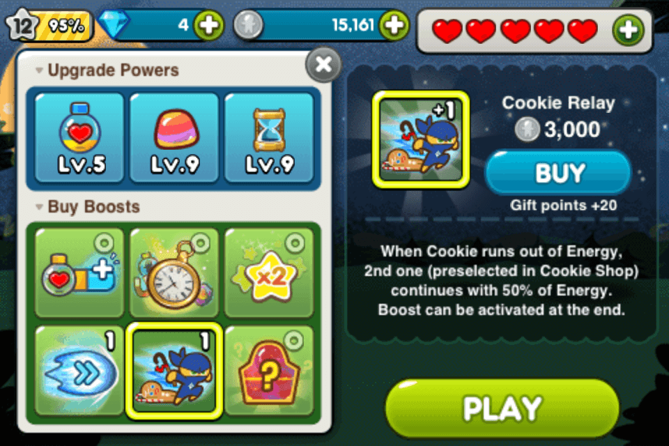 line cookie run buy boosts