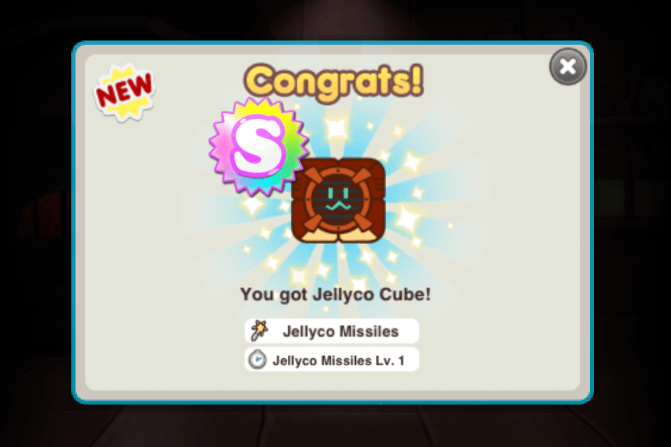 line cookie run hatch jellyco cube