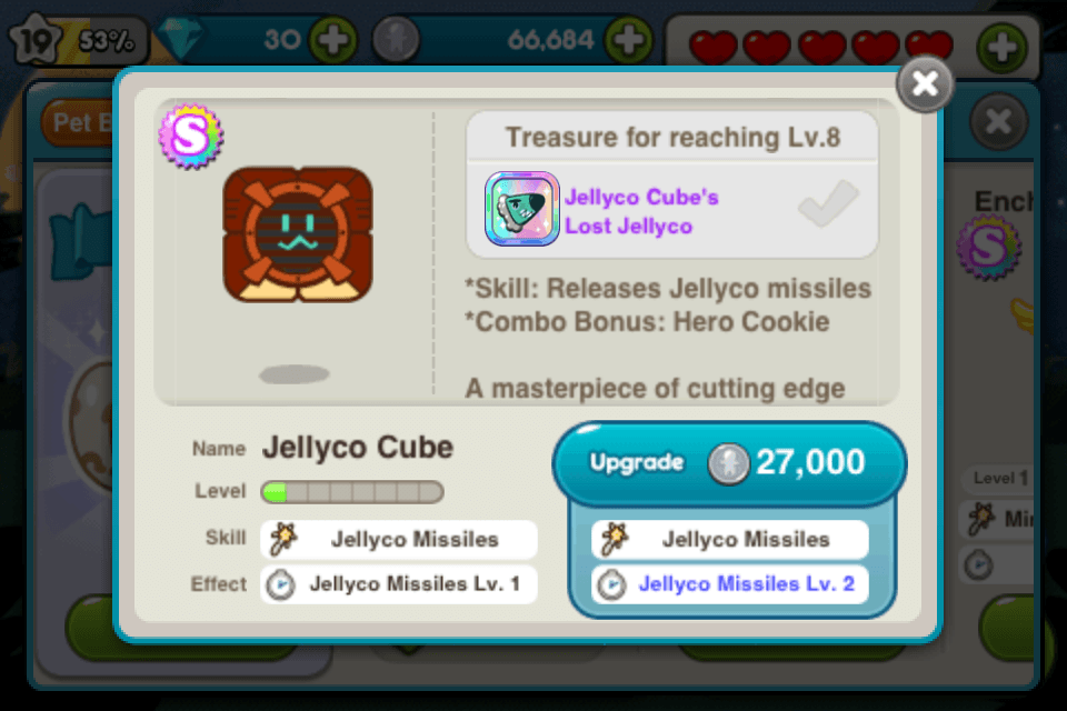 line cookie run jellyco cube
