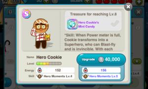 line cookie run hero cookie