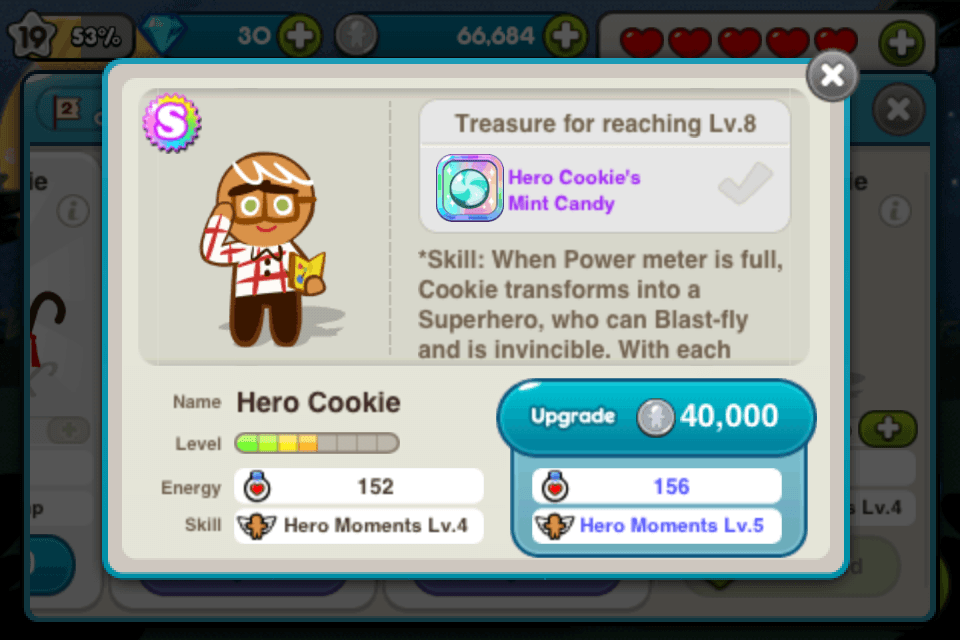 line cookie run hero cookie