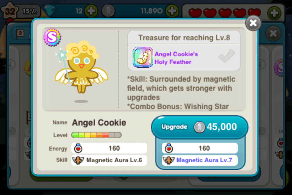 line cookie run angel
